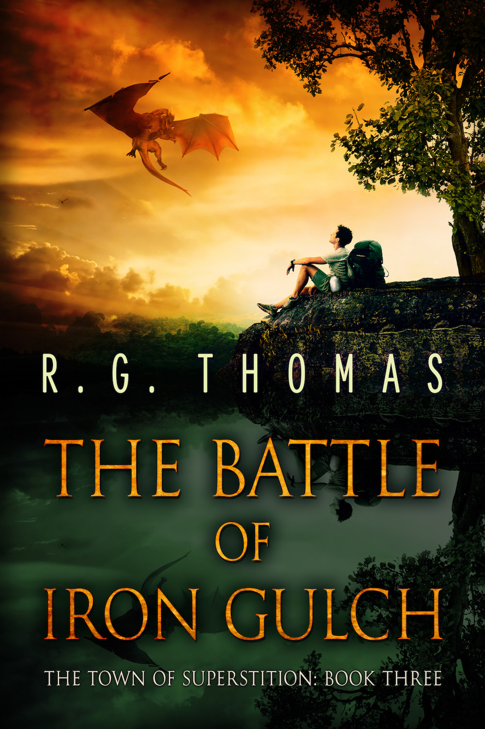 The Battle of Iron Gulch Book Cover